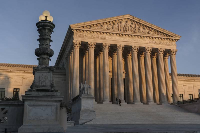 Amerikansk høyesterett nei til Californias forbud mot enkelte religiøse samlinger i private hjem for å begrense smittespredning. Foto: J. Scott Applewhite/AP/ NTB