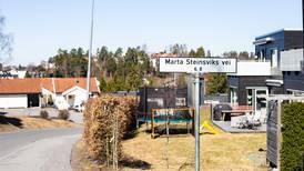 Nå skal Marta Steinsvik fjernes fra gatenavn
