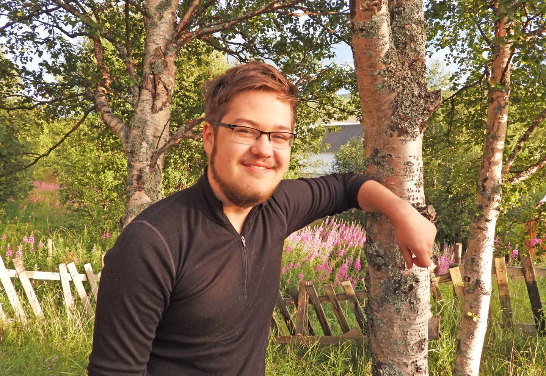 Ivar Østby, Fagligpolitisk ansvarlig AUF i Trøndelag og historiestudent