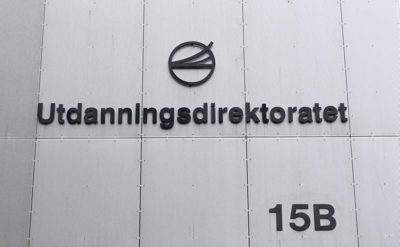 Oslo  20170130.Utdanningsdirektoratet i Oslo.Foto: Gorm Kallestad / NTB scanpix