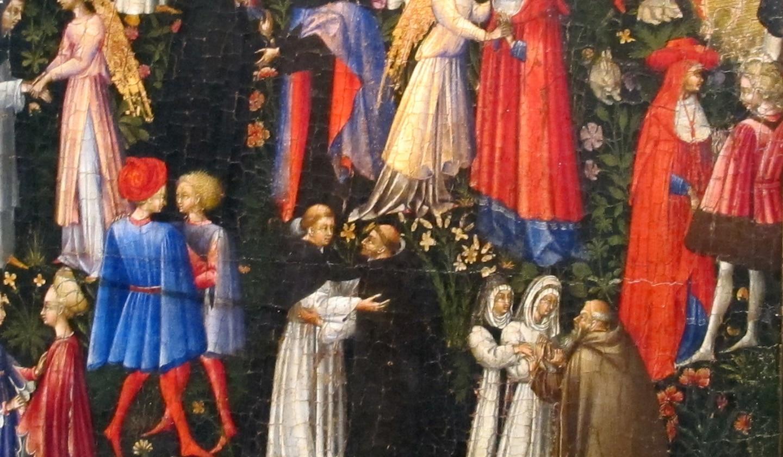 Giovanni di paolo, paradiso, 1445
