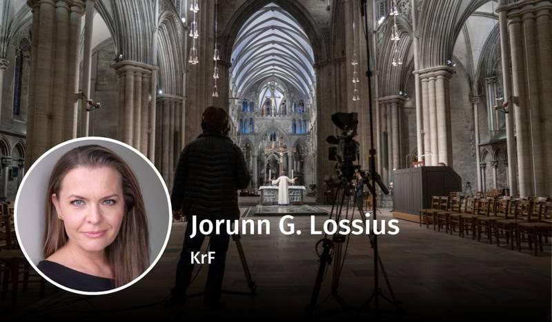 Jorunn G. Lossius, NRK, debatt