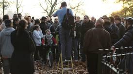 Evangelist knivstukket i London
