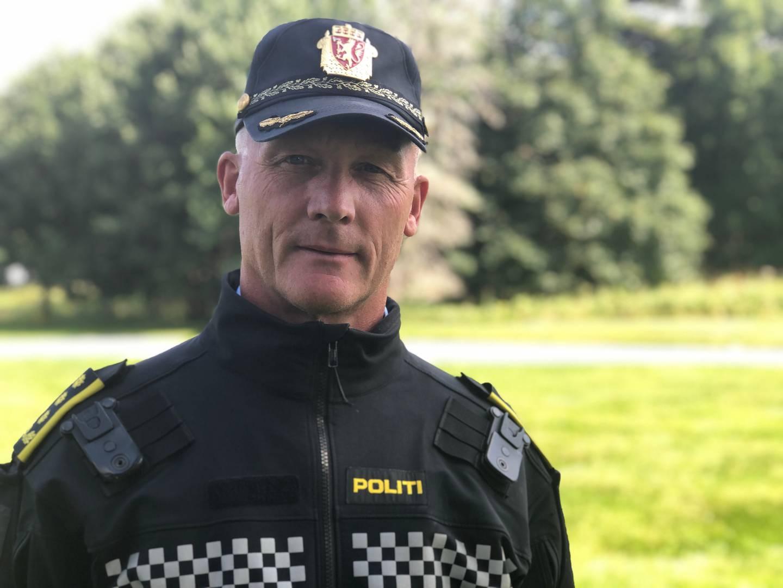 Vidar Olsen, innsatsleder i Sør-Vest politidistrikt. 5. august 2021