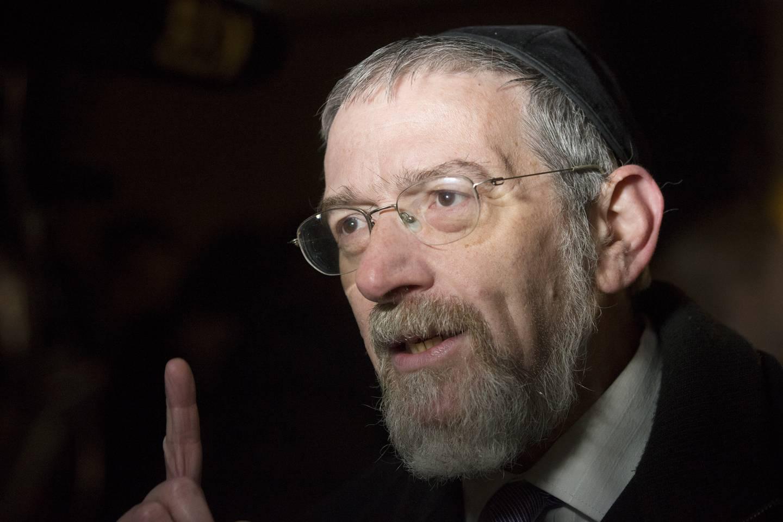 Rabbiner Michael Melchior