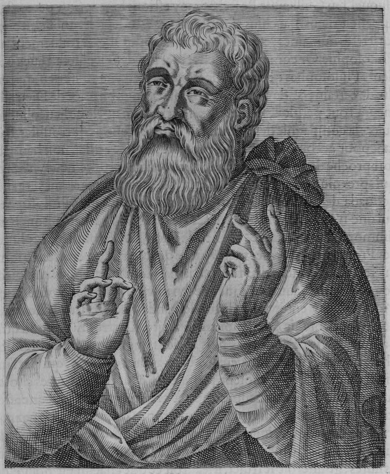 Justin Martyr skrev sitt trosforsvar på midten av det andre århundret etter Kristus.