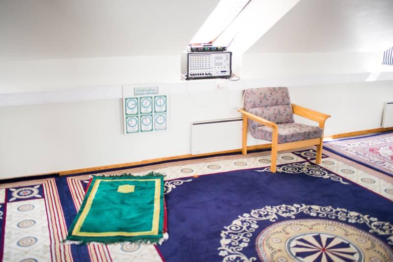 Oslo 14.06.2016 Kebba Secka, midlertidig leder i Islamsk Råd. Her fotografert i en Moske på Grønland i Oslo. FOTO: JOAKIM S. ENGER
