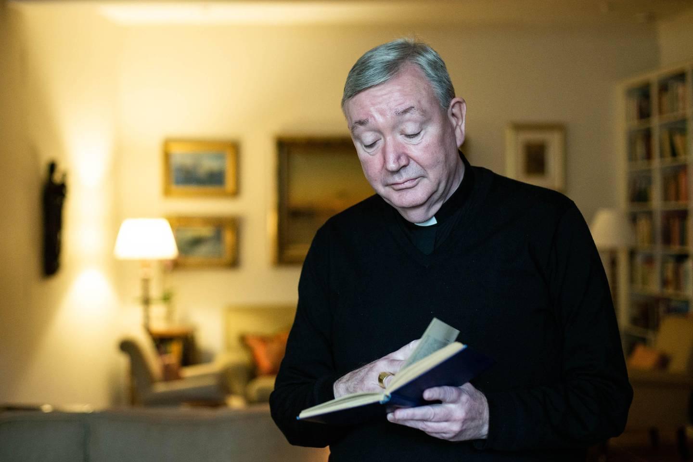 """Bernt Eidsvig, Katolsk Biskop, Oslo. """"det er en dyp, alvorlig krise. Vi kan ikke kalle det noe annet,"""""""