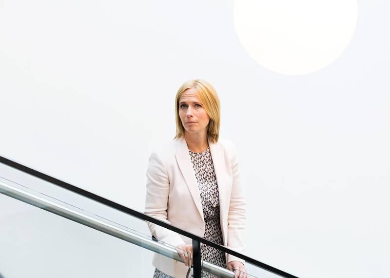 Oslo  20180525. Inga Bejer Engh (47) nytt barneombud. Foto: Gorm Kallestad / NTB scanpix