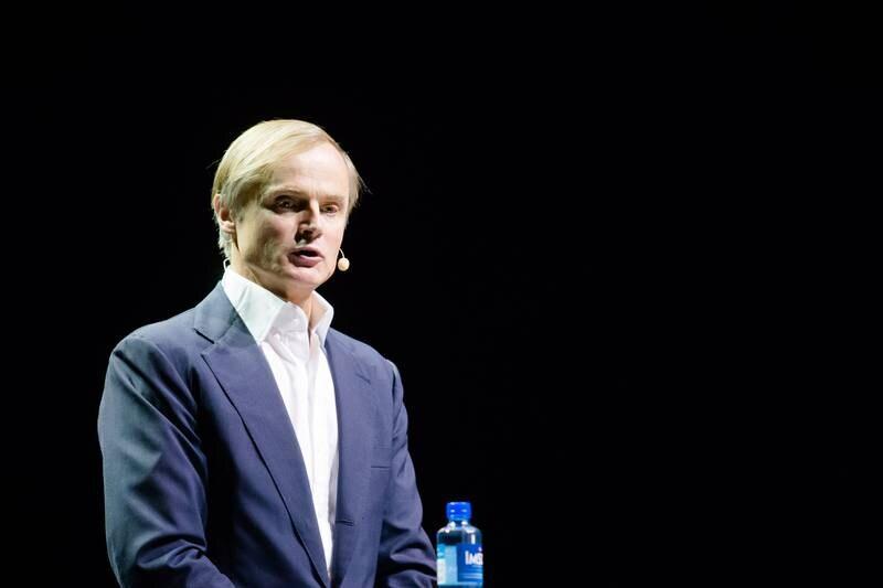 Oslo  20161117. Investor Øystein Spetalen taler under Oslo Business Forum i Oslo Konserthus torsdag. Foto: Audun Braastad / NTB