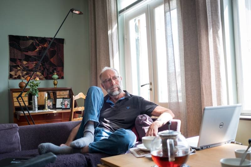Oslo 13.06.2017. Geir Hellemo, pensjonist, tidligere rektor ved Det praktisk-teologiske seminar og professor i kirkehistorie ved Universitetet i Oslo.  Foto: Joakim S. Enger