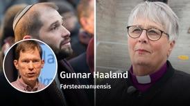 Vil biskopen gjøre bot?
