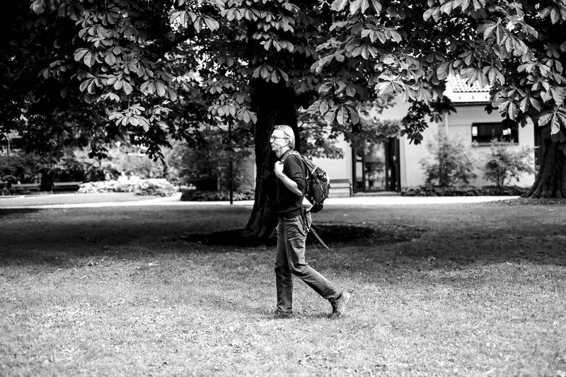 Min Tro med Anders Aschim . Fotografert i universitetsparken og ved hjemmet i Vestby
