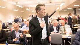 Brunegård gir seg som styreleder