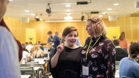 Edel-Marie Haukland ny KrFU-leder. Vil ikke si hva hun mener om abortloven