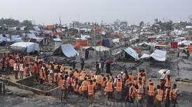 Frykter flere brannkatastrofer i rohingyaleire