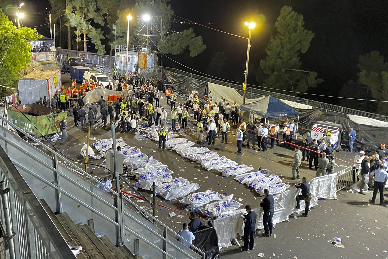 Foto: Ishay Jerusalemite / Behadrei Haredim via AP / NTB
