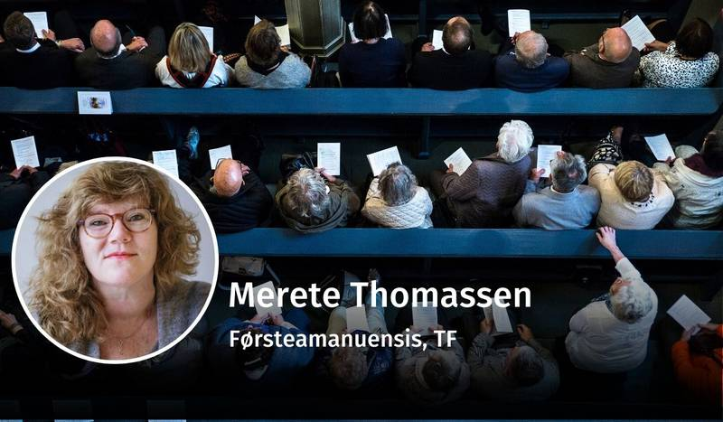 Merete Thomassen, gudstjenester, debatt