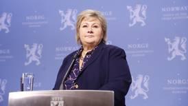 Erna Solberg: – Hadde foretrukket om Frp ble i regjering
