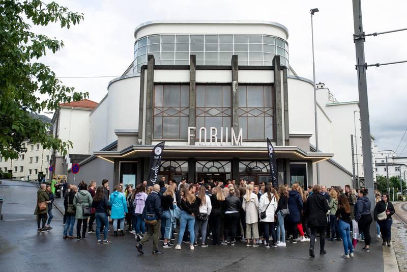 Menigheten Salt åpnet praktbygget Forum kino i Bergen for noen uker siden. Der vil det bli servert alkohol på utleie-arrangementer.