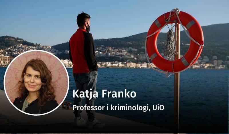 Katja Franko, flyktninger, straff, debatt