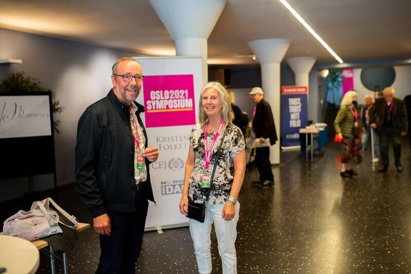 Oslo Symposium. Tore Nygård og Astrid Kvåle Nygård