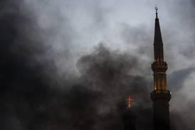 Beirut-kirke gjenåpner etter eksplosjonen