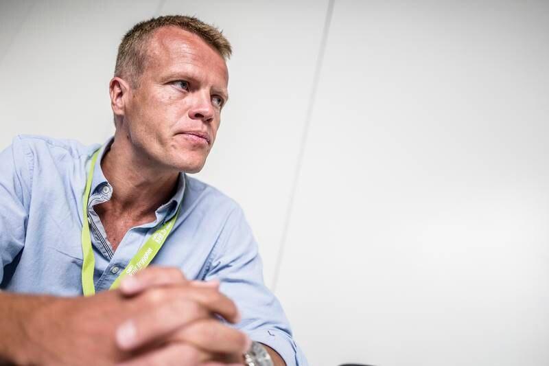 Øyvind Åsland, her avbildet under NLMs generalforsamling 2015 i Randaberg Forum.