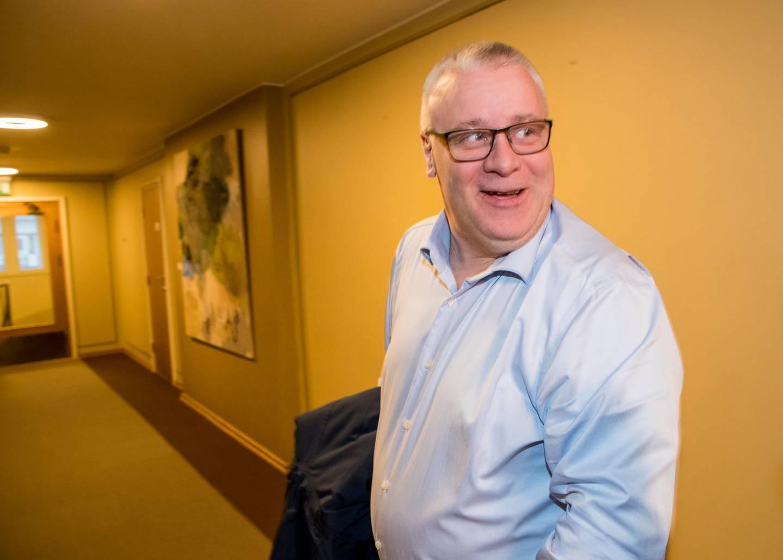 Oslo 20200128.  Bård Hoksrud i forbindelse med gruppemøte i FrP i forbindelse med fordeling av komiteer. Foto: Terje Pedersen / NTB scanpix