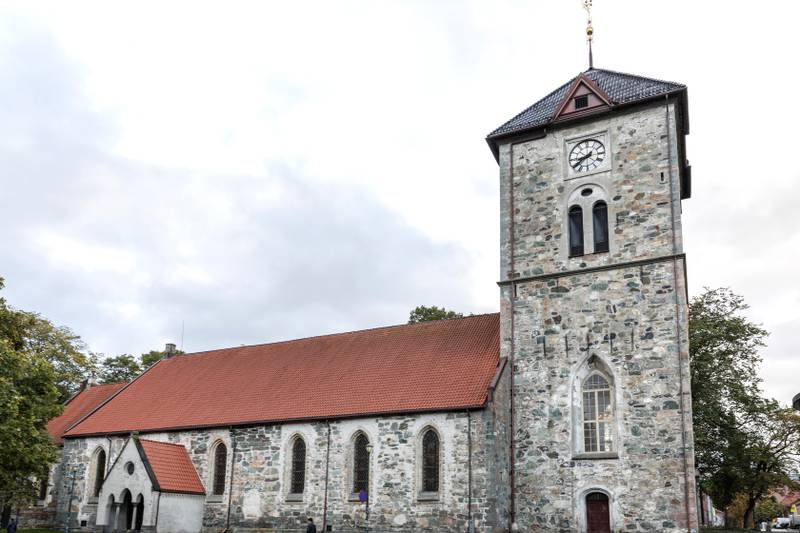 Trondheim  20171004. Vår Frue kirke er en steinkirke i Trondheim. Foto: Gorm Kallestad / NTB scanpix