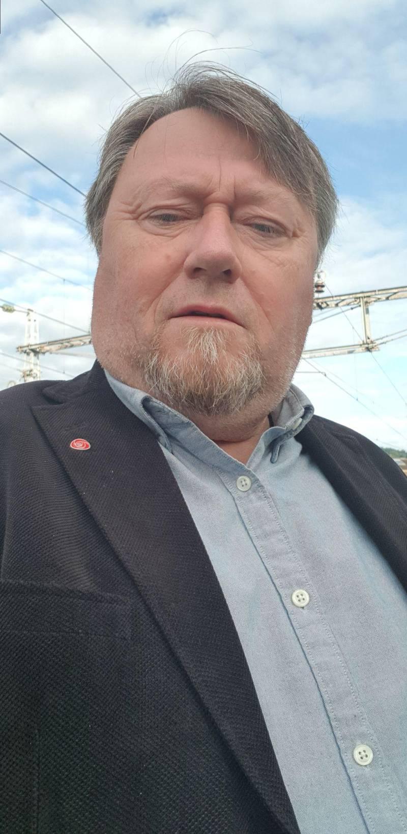 Geir Jarle Sirås, styreleiar i Charlottenlund Sportsklubb Håndball.