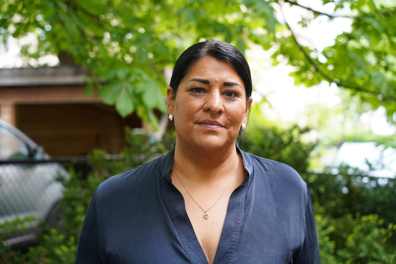 Natasha Pedersen, generalsekretær i Foreningen for barnepalliasjon og mor til Andrea