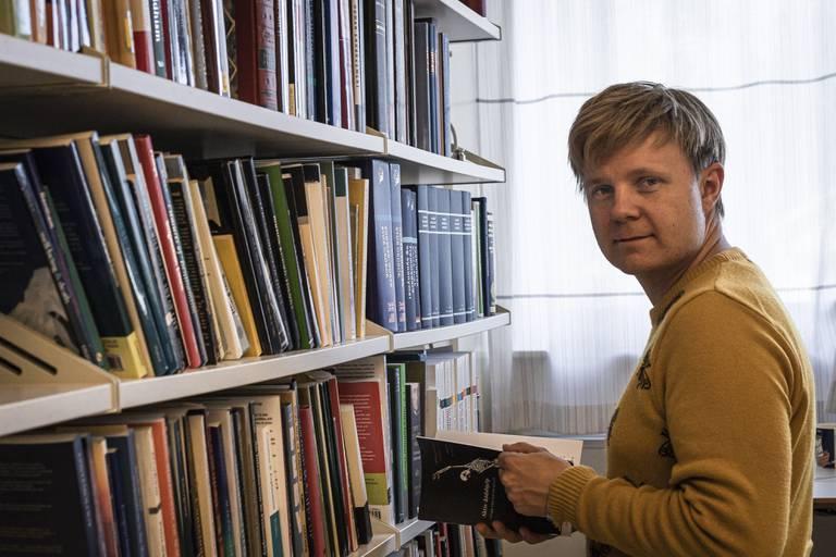Ole Martin Moen, filosof og professor ved OsloMet