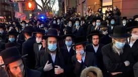 Hasidiske jøder jaget av New York-politiet
