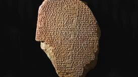 3.500 år gammel steintavle med episk dikt kan bli overført fra USA til Irak