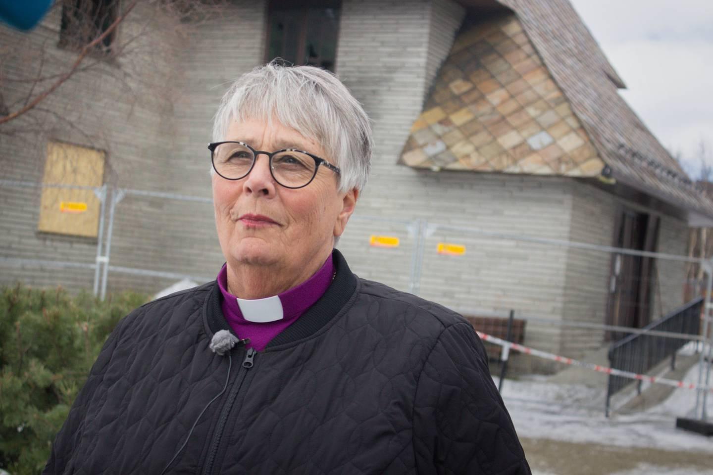 IKKE BEGEISTRET: Hamar-biskop Solveig Fiske kaller Frimodig kirkes alternative tilsyn en helt «uholdbar modell».