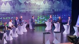 Følg partilederdebatten