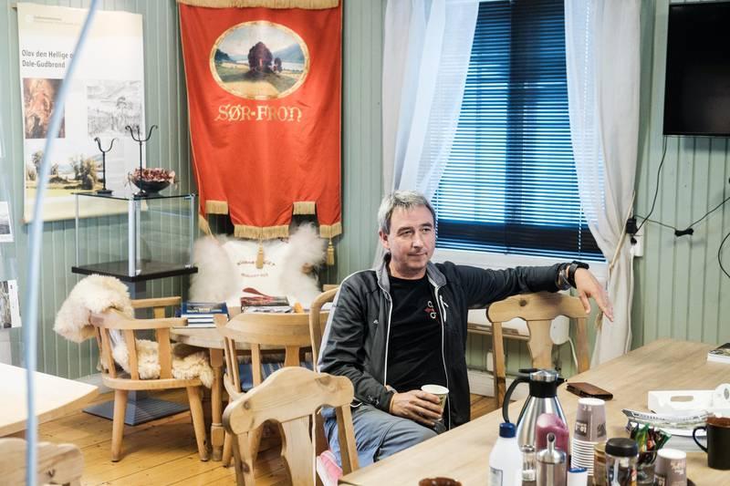 Dale-Gudbrand,Hundorp Norge Daglig leder av Gudbrandsdalsmusea Pilegrimssenter Per Gunnar Hagelie.Til saker om pilegrimsleden