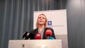 Listhaug går av som justisminister