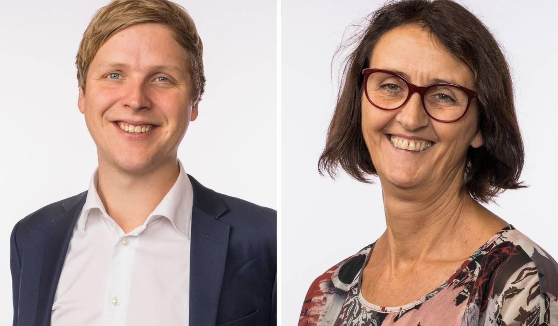 Åsmund Aukrust og Kari Henriksen, Stortingsrepresentanter (Ap)