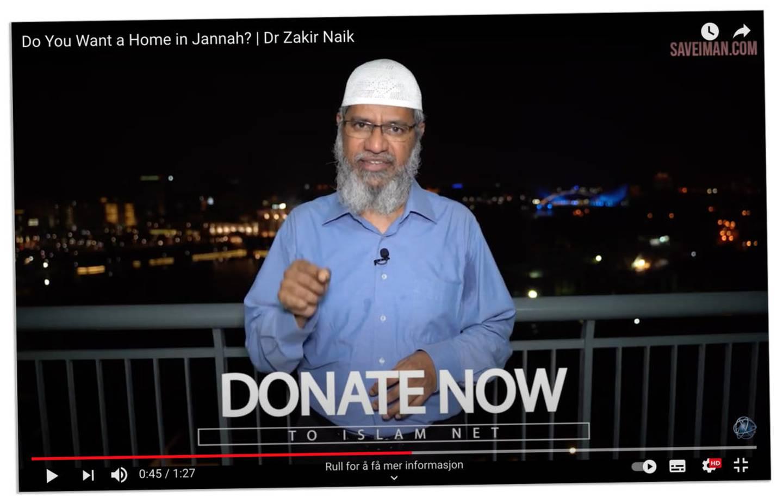 KAMPANJE: Islam Nets innsamlingskampanje ble frontet med opptredener i YouTube-videoer.