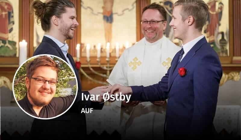 Ivar Østby, kristne verdier, debatt