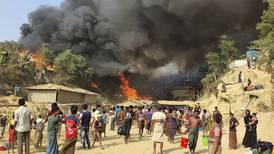 50.000 rohingyaer husløse etter storbrann i flyktningleir