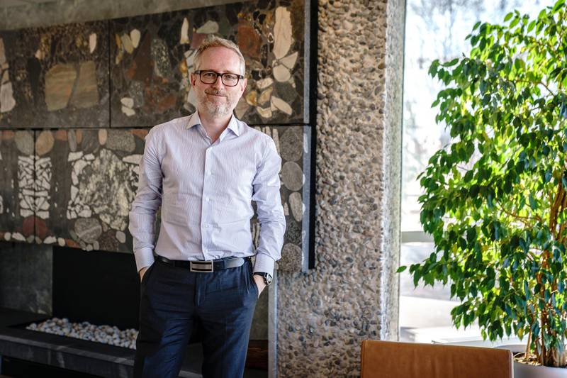 Norad-direktør Bård Vegar Solhjell.Wenche Fone, avdelingsdirektør i avdeling for sivilt samfunn og privat sektor.