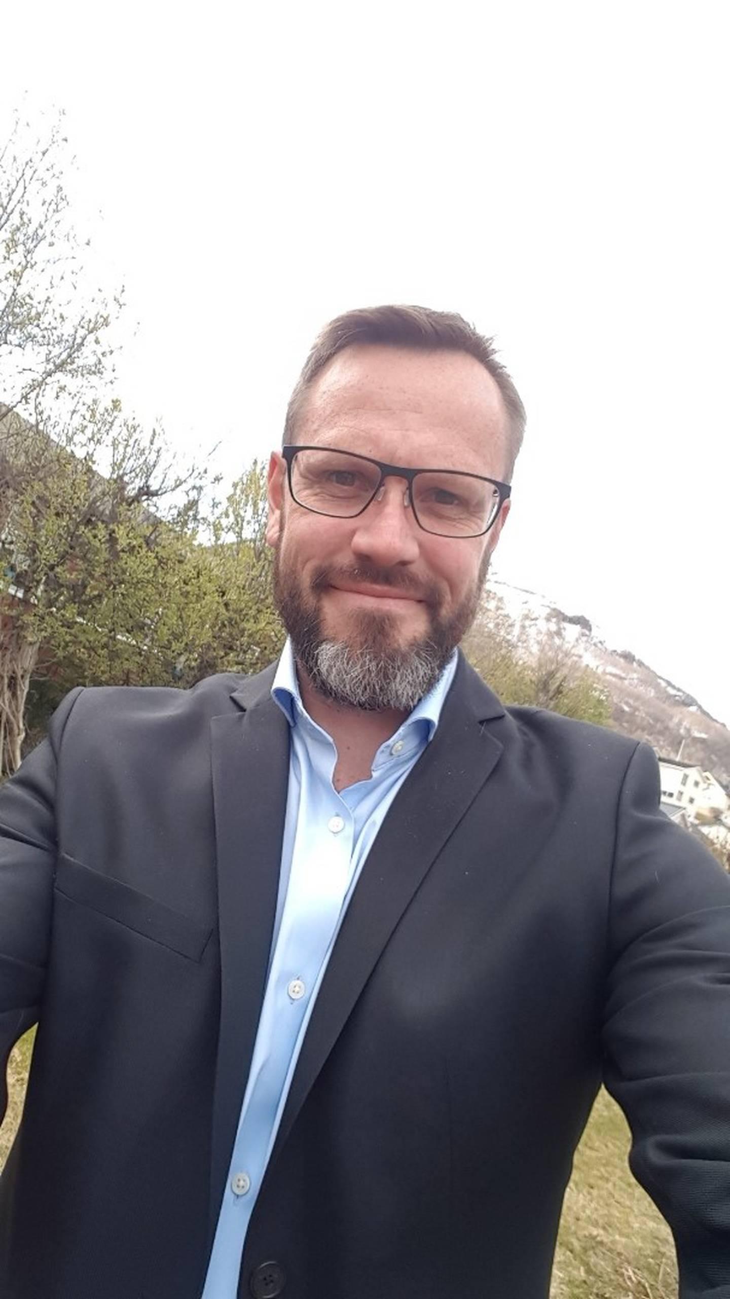 Jørgen Forøy, styremedlem i Krematorienetterverket og krematoriums- og gravlundssjef i Tromsø