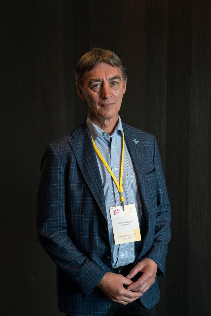 KrFs landsmøte 2019. Geirmund Lykke