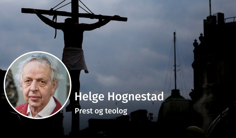 PÅSKEMYTE: «Selv kjenner jeg det meningsfullt å se på fortellingen om Jesu korsfestelse, død og oppstandelse som en myte», skriver Helge Hognestad. Han har skapt debatt med sin tolkning av forsoningslæren.