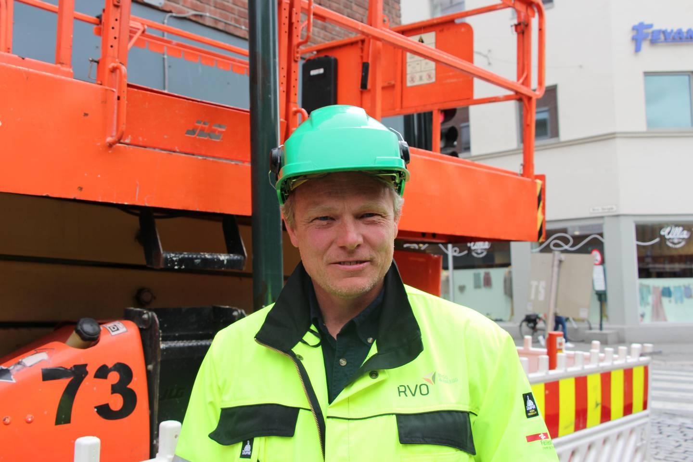 Lars Mamen. FOTO: KENNETH LIA SOLBERG