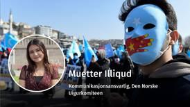 Situasjonen for uigurene endrer seg ikke