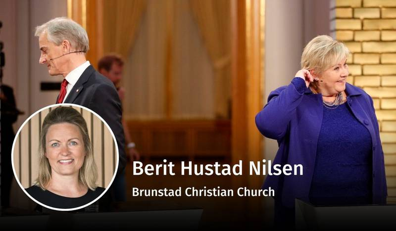 Berit Hustad Nilsen, valg 2021, debatt